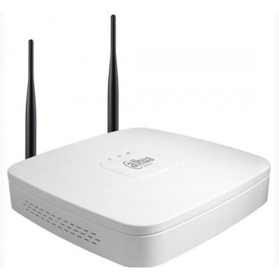 4-канальный сетевой видеорегистратор Dahua DH-NVR4104-W (wi-fi)