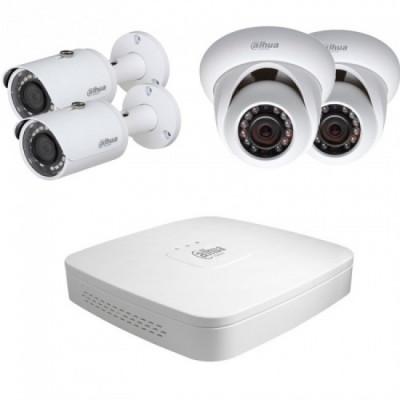 Комплект видеонаблюдения Dahua KIT-IP42-2B/2D