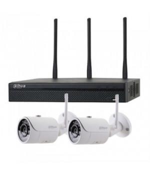 Комплект видеонаблюдения Dahua KIT-IP43-2B-W