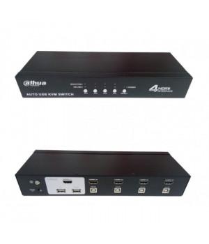 KVM коммутатор Dahua DH-KVM0401HM-E100